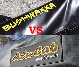 Bushwakka 270 Awning vs Alu-cab