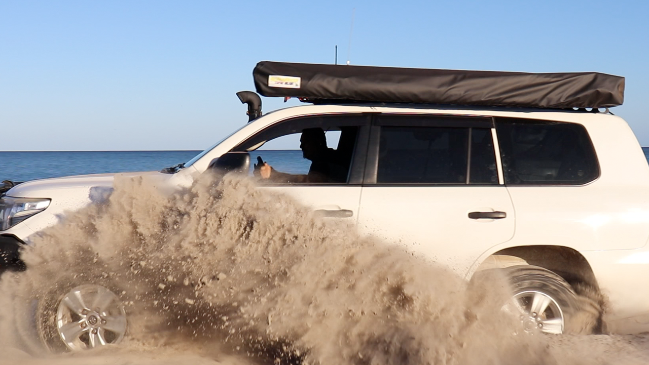 Why are 200 Series Land Cruisers Terrible on the beach?