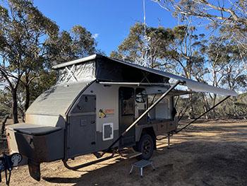 We bought an Emu Xpedition Hybrid Caravan/Camper